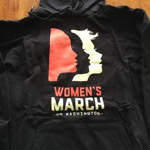 WOMENS MARCH ON WASHINGTON HOODIES